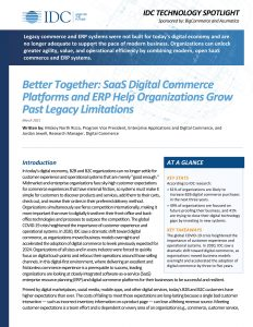unified ecommerce and ERP solution