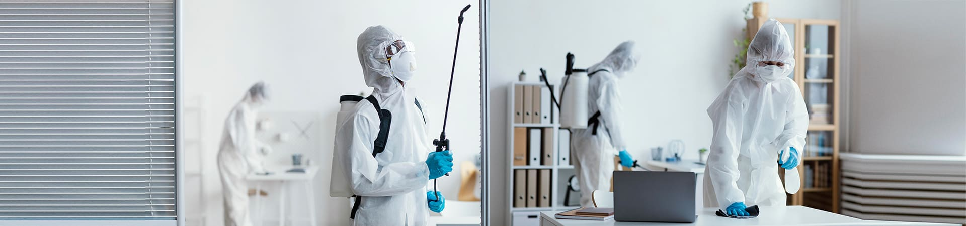janitorial sanitizing and cleaning